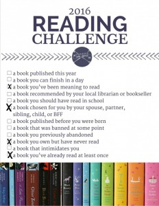 Reading Challenge – Book I've Read at Least Once